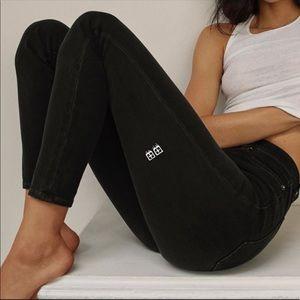 Ksubi Tsubi Black faded skinny jeans 109670